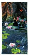Butterfly Ball Pond Bath Towel