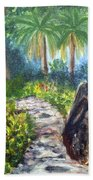 Butterfly Garden At Gumbo Limbo Bath Towel