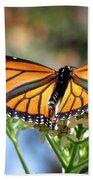 Butterfly Garden - Monarchs 13 Bath Towel