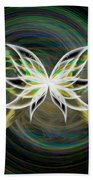 Butterfly Glow Bath Towel