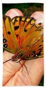 Butterfly Landing Bath Towel