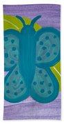 Butterfly Bath Towel by Melissa Dawn