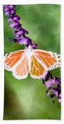 Butterfly - Monarch - Photopower 319 Bath Towel