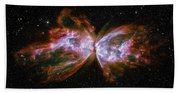 Butterfly Nebula Ngc6302 Bath Towel