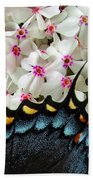 Butterfly Wing And Phlox Bath Towel