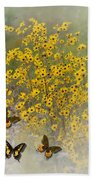 Butterfly's Paradise Hand Towel