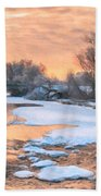 By The Old Mill Bath Towel