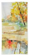 By The Pond Hand Towel