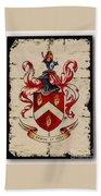 Byrne Coat Of Arms Bath Towel