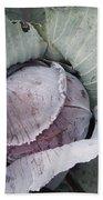 Cabbage Bath Towel
