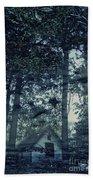 Cabin In The Woods Bath Towel