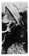 Cabinet Of Dr. Caligari Bath Towel