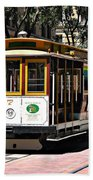 Cable Car - San Francisco Bath Towel