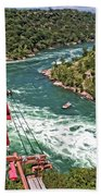 Cable Car Whitewater Bath Towel