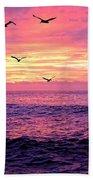 Cabo San Lucas Sunrise Hand Towel