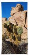 Cactus In Hidden Valley Bath Towel