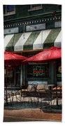 Cafe - Albany Ny - Mc Geary's Pub Bath Towel