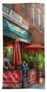 Cafe - Hoboken Nj - Vito's Italian Deli  Bath Towel