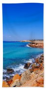 Cala Saona On Formentera Bath Towel
