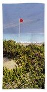 Caleta De Famara Beach Lanzarote Bath Towel