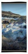Calhan Paint Mines Landscape Bath Towel