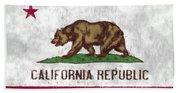 California Flag Hand Towel