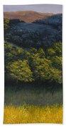 California Foothills Hand Towel by Darice Machel McGuire