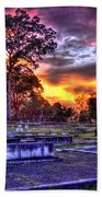 Callaway Graves At Sunset Bath Towel