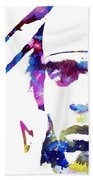 Cam Newton - Doc Braham - All Rights Reserved Bath Towel