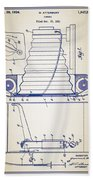 Camera Patent Bath Towel