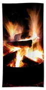 Camp Fire Bath Towel