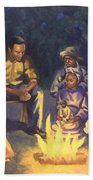 Campfire Stories Hand Towel by Colin Bootman