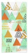Camping Bath Towel by Linda Woods