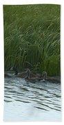 Canada Goose Family   #7478 Bath Towel