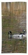 Canadian Geese Bath Towel