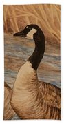 Canadian Geese Bath Towel