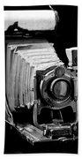 Canadian Kodak Black And White Camera Bath Towel