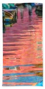 Canal Reflections Bath Towel