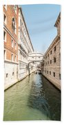 Canals Of Venice Bath Towel