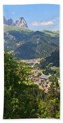 Canazei - Val Di Fassa Bath Towel
