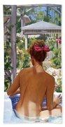 Candace Being Candlish On Canvas Bath Towel