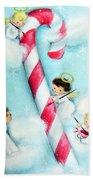 Candy Cane Bath Towel
