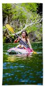 Canoe For Girls Bath Towel
