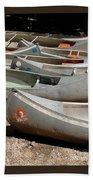 Canoes 143 Bath Towel
