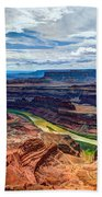 Canyon Country Hand Towel by Chad Dutson