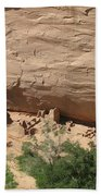 Canyon De Chelly Ruins Bath Towel