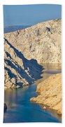 Canyon Of Zrmanja River In Croatia Bath Towel