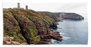 Cap Frehel In Brittany France Hand Towel