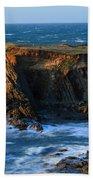 Cape Arago Lighthouse Bath Towel