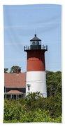 Cape Cod - Nauset Lighthouse - Ma Bath Towel